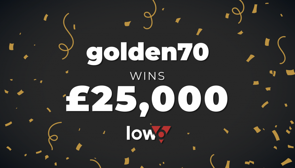 Low6 Celebrate Their First Jackpot Winner of 2020!