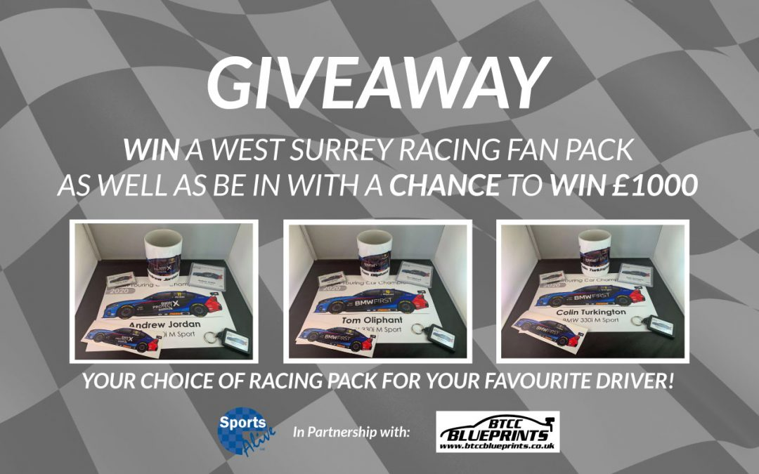 Win a BTCC Fan Pack AND a chance to win £1k!